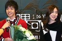 Yu Hao Ming and Kan Mi Youn