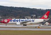 HBIQIEdelweiss AirAirbus A330223. Jürg BosshardZürich 13.01.11 . (hb iqi )