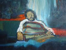 pintura Damian antes de morir