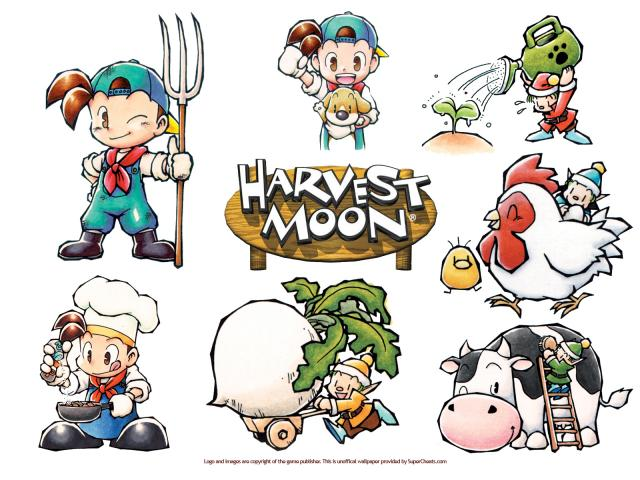 Harvest moon recipes