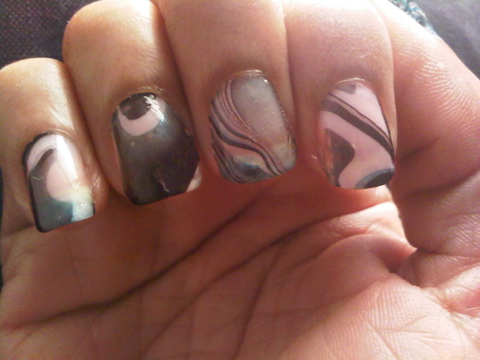 Do it yourself nail designs with scotch tape