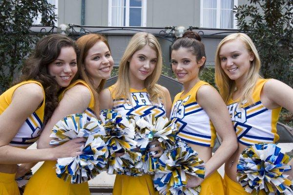 for today: the Lifetime Original Fab Five: the Texas Cheerleader