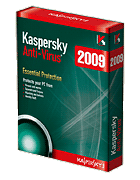 Download Kaspersky Anti-Virus 2009 the latest version