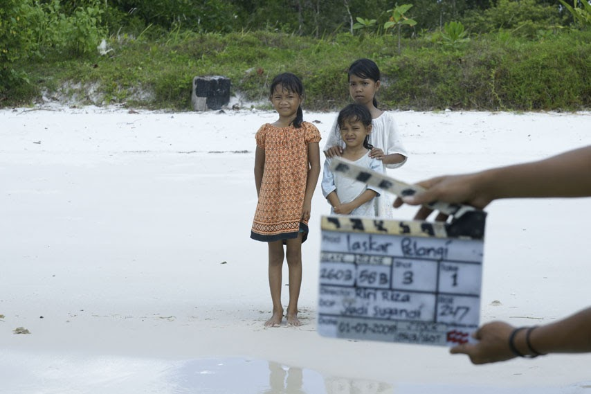 Behind The Scenes - Laskar Pelangi The Movie