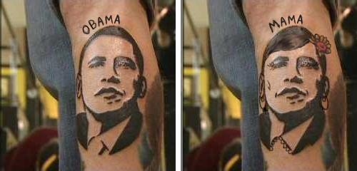 Op toons obama tattoo coverup suggestion for Does obama have a tattoo