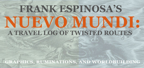 Frank Espinosa's NUEVO MUNDI: a travel log of twisted routes