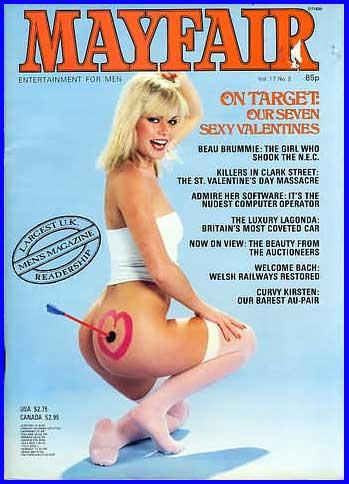 magazine British adult