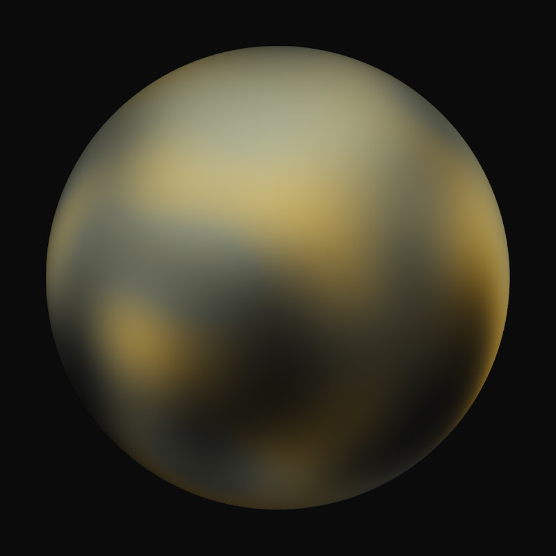Pluto: 90 Degrees Longitude