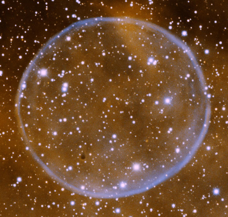 Soap Bubble Planetary Nebulae, PN G75.5+1.7