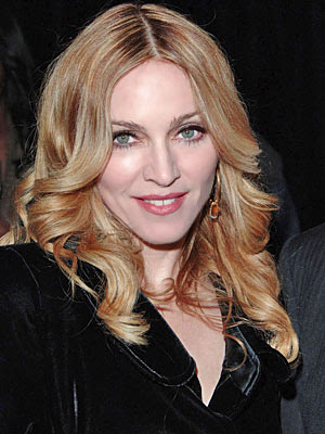 Madonna Hairstyles 2011