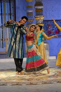 laali & Shekhar performing Ras-Leela