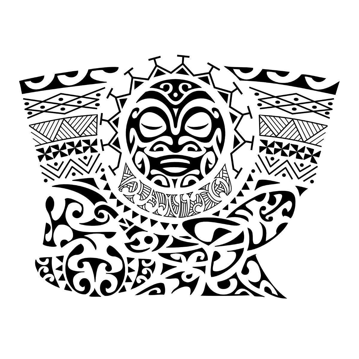 Эскизы полинезия маори тату предплечье