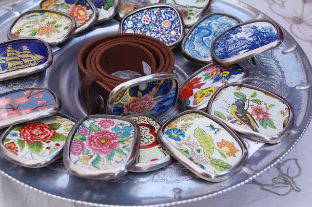 Old fashioned biscuit tins