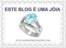 """Premio """"Este blog é uma jóia"""