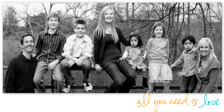 The Stroup Family: All You Need Is LOVE
