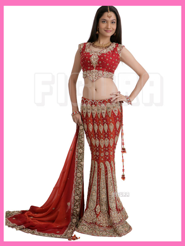 Red Indian Wedding Dresses