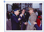 Il Prefetto di Bari e l'ufficiale del Corpo Militare dell'ACISMOM