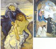 Don Bosco, il Nazareno e Maria.