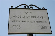 Strada intitolata ad un eroe dei Vigili del Fuoco di Bari
