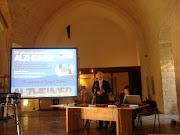 Il Senatore D'Ambrosio, ad un convegno sull'Alzheimer, castello Svevo di Bari