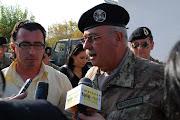 Il Col. Mastrangelo in azione...Kosovo