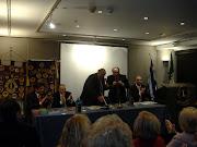 Una foto dell'incontro con il Lons Club Tassaloniki-Salonicco