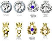 Fregi Ufficiali delle categorie di servizio-A.C.I.S.M.O.M.
