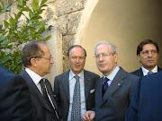 Il Sen. Luigi d'Ambrosio Lettieri ed il Prefetto di Bari