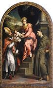 Il dipinto di Paris Bordon - Pinacoteca della Provincia di Bari