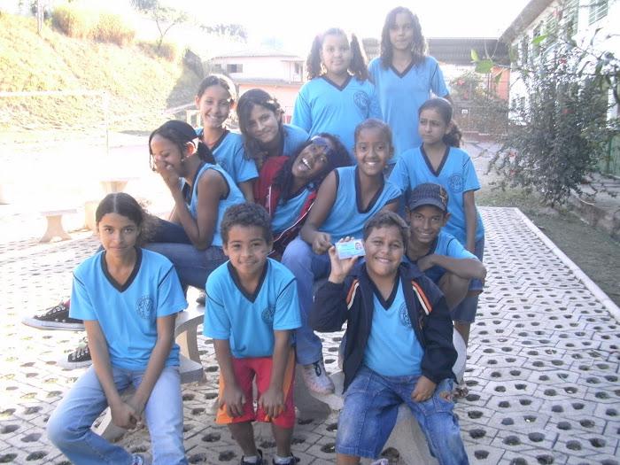 Equipe da rádio segundo ciclo - 2009