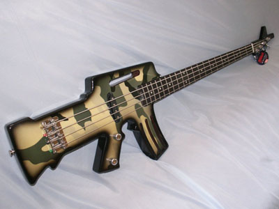 machine gun bass