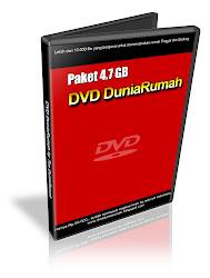 Paket DVD DuniaRumah 4.7 GB