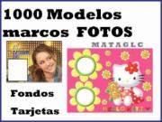 COMBO MARCOS Y FONDOS PARA CREAR TUS FOTOS Y TARJETAS