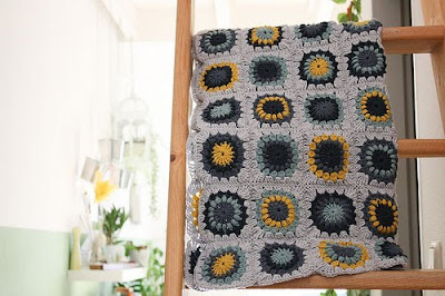 AFGHAN CROCHET GRANNY PATTERN SQUARE « CROCHET PATTERNS