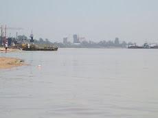 El río Praná desde Pueblo Ester