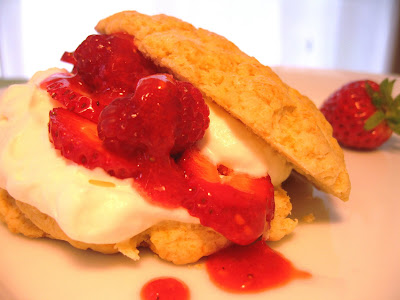 Amazing strawberry shortcake