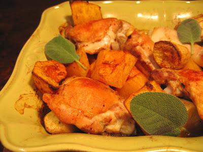 Thanksgiving-y Chicken Dinner