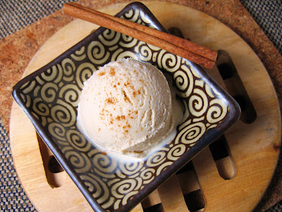 Home-Made Cinnamon Ice Cream