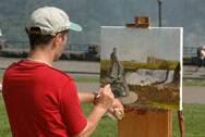 Painting in Niagara Falls