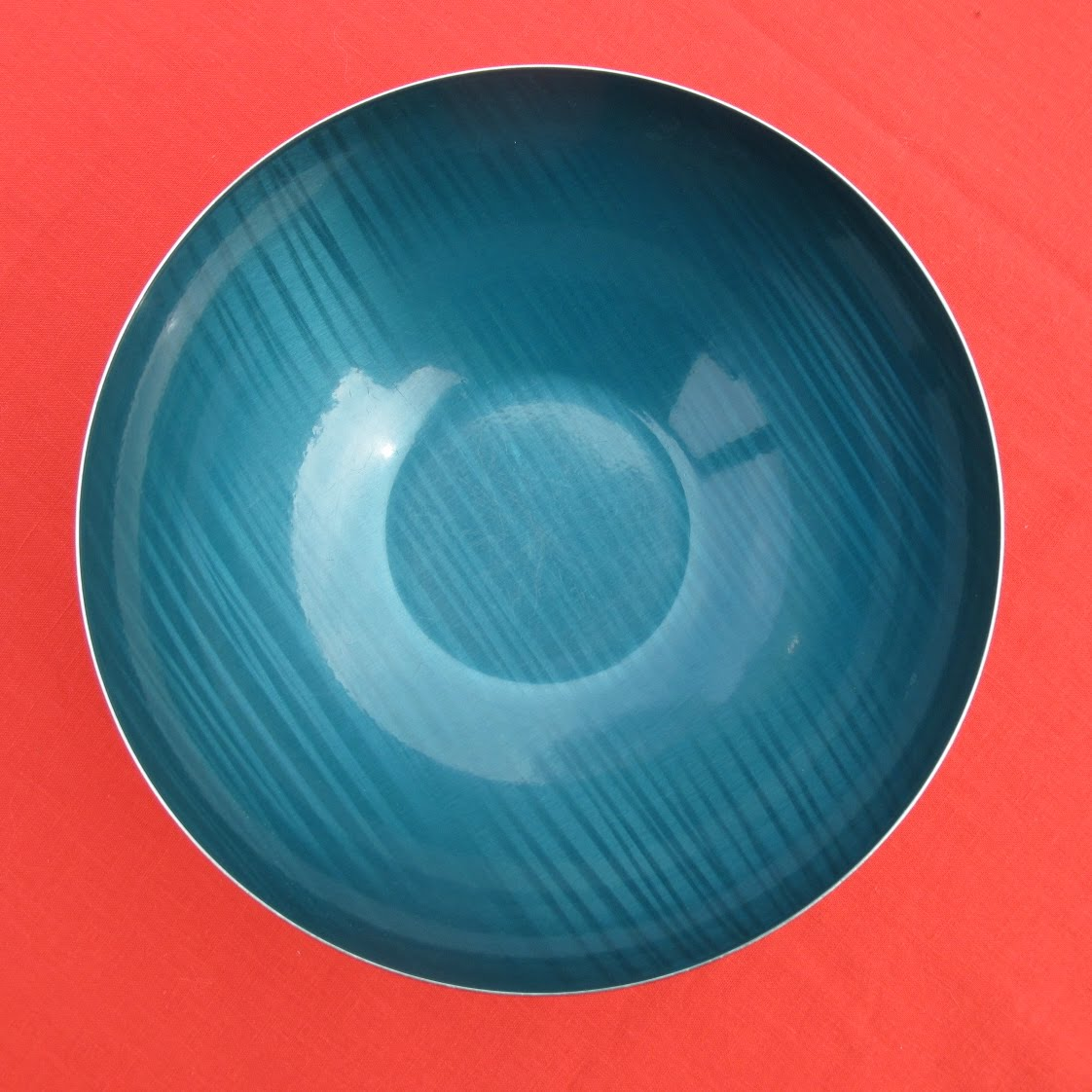 Postwarpop Enameled Bowl Greta Korsmo Cathrineholm