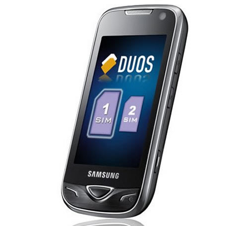 samsung b7722 dual sim smartphone announced today news updates. Black Bedroom Furniture Sets. Home Design Ideas