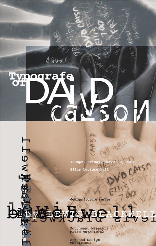 david carson typography - photo #15