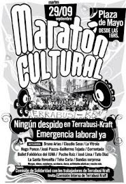 Martes 29/9: Maratón cultural