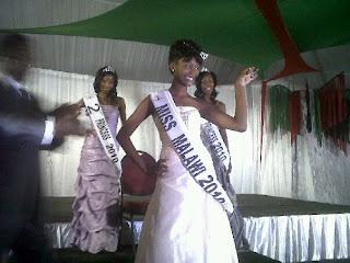 miss malawi 2010 winner faith chibale