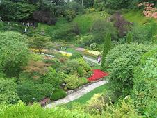 Butchart Gardens - the sunken garden