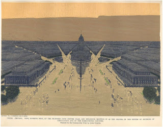 Proposed Civic Center, Jules Guerin