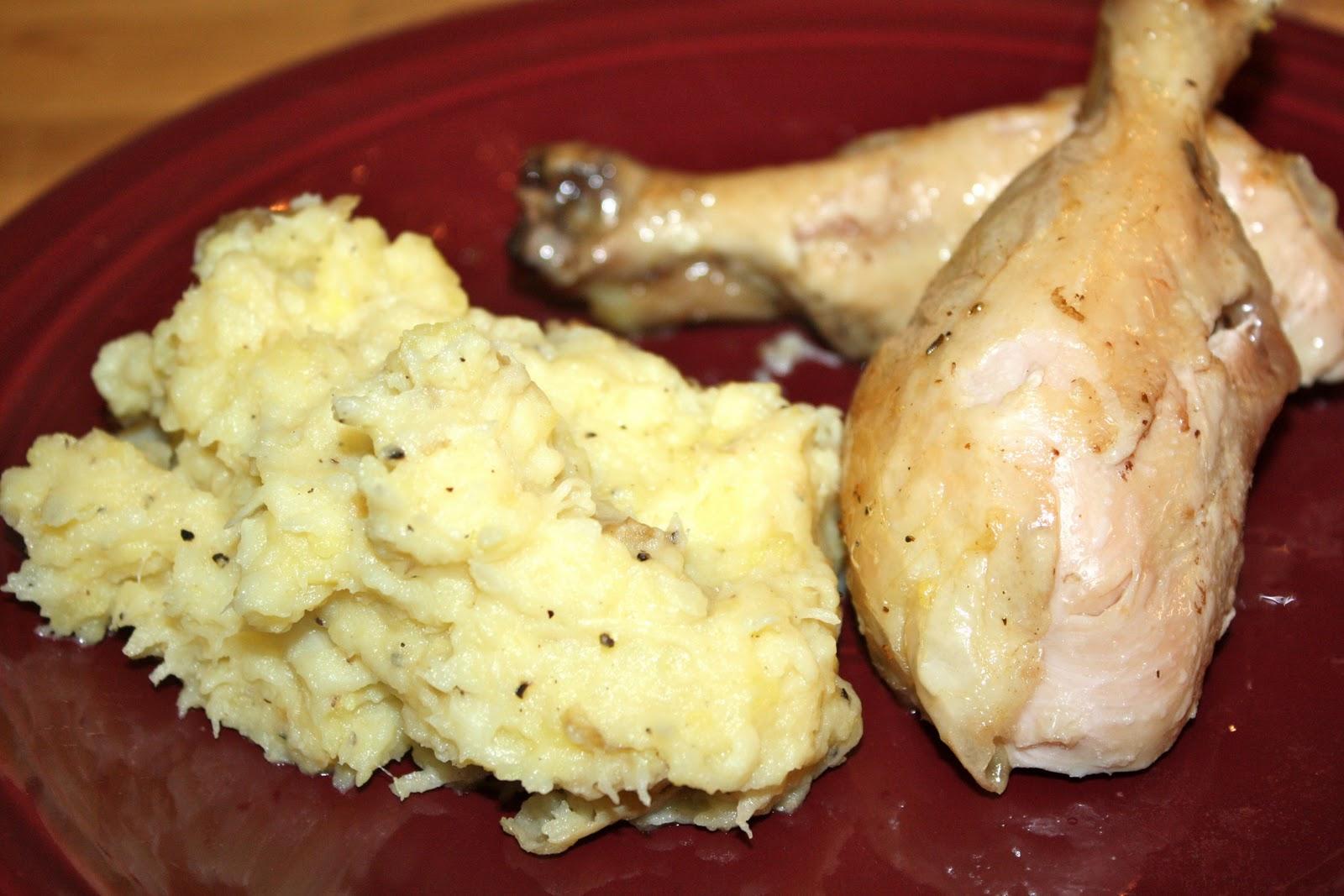 18 Hour Kitchen: Parsnip Mashed Potatoes