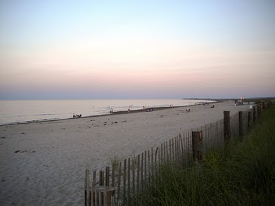 Duxbury Beach 7:59pm July 27th 2010