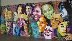 Mural #1 Masks