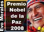 Morales Nobel per la Pace
